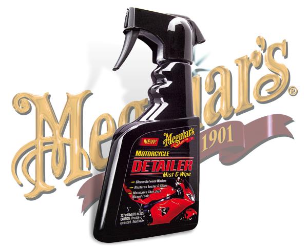 Meguiars Motorrad Reiniger Detailer Mist&Wipe MC-20108