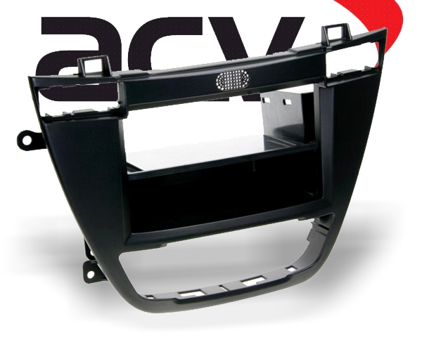 Radioblende mit Ablagefach Opel / Buick / Vauxhall schwarz