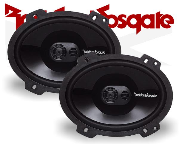 Rockford Fosgate Punch 3-Wege-Triax P1683