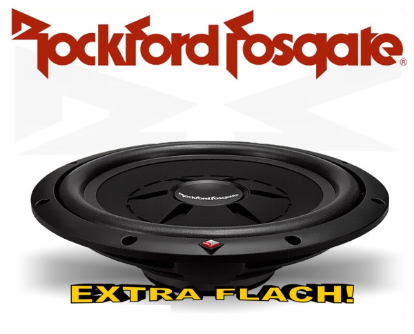 Rockford Fosgate Prime R2 Subwoofer R2SD4-10 extra flach