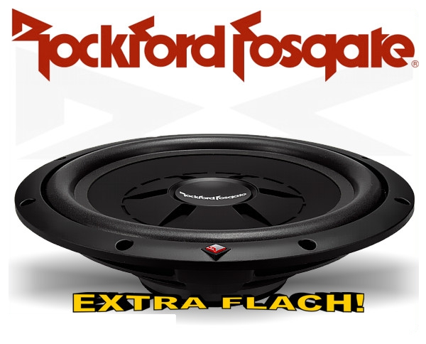 Rockford Fosgate Prime R2 Subwoofer R2SD4-12 extra flach