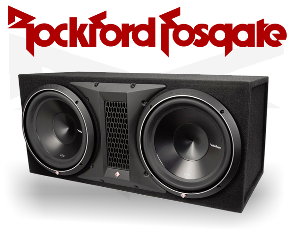 Rockford Fosgate Punch P2 Subwooferbox P2-2x10