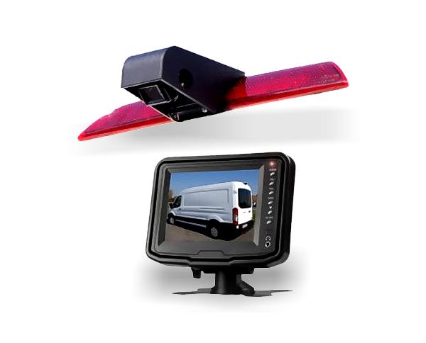 Rückfahrkamera fahrzeugspezifisch Ford Transit 3. Bremsleuchte inkl. Monitor
