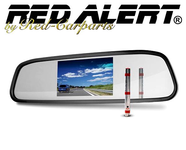 Rückspiegel Monitor 4.3 Spezialmonitor mit Rückspiegel-Funktion
