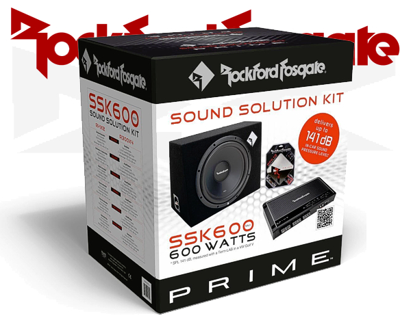 Rockford Fosgate Car Hifi Set SSK-600 MKII