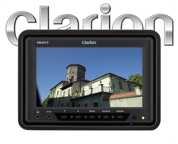 CLARION VMA573 5,6 LCD/TFT Auf-/Einbau-Monitor
