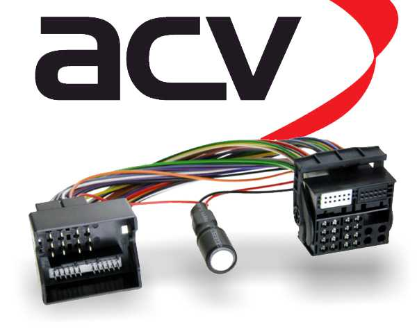 Radioadapter Autoradio Adapter mit Spannungsstabilisator für Start-Stopp Quadlock
