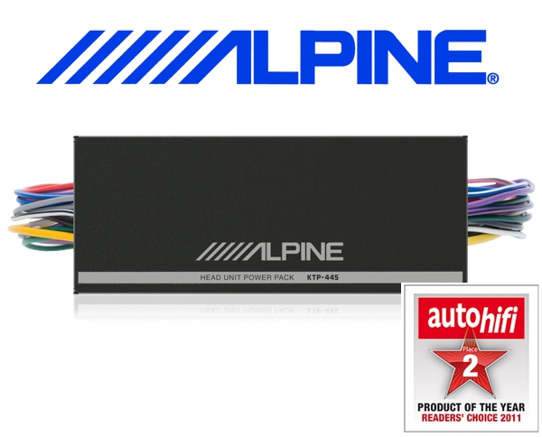 Alpine Headunit Power Pack für Autoradios KTP-445A