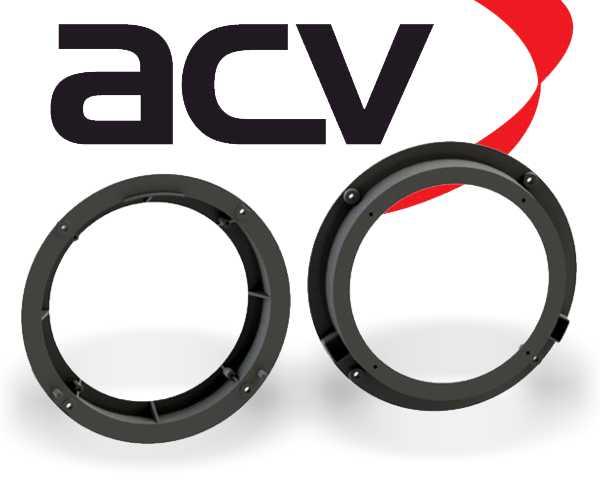 Lautsprecher Adapterringe für Audi A1 ab 2010 Türe Front 200mm