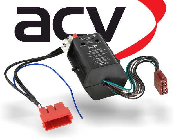 Vollaktivsystemadapter für Autoradio Audi A3 A4 A6 A8 TT