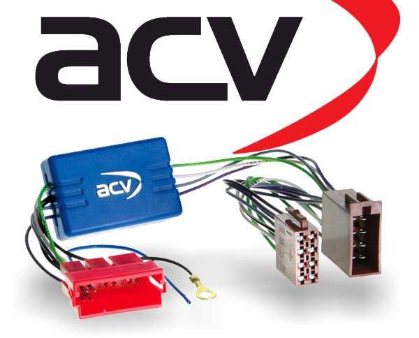 Aktivsystemadapter für Autoradio Audi Seat Skoda VW 1338-02
