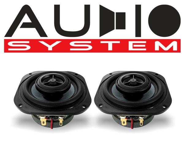 Audio System 2-Wege Auto Lautsprecher Koax CO 80 EVO
