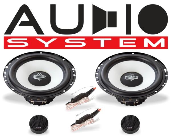 Audio System 2-Wege Auto Lautsprecher-System M 165 EVO