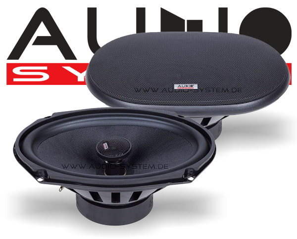 audio system 2 wege auto lautsprecher koax oval mxc609. Black Bedroom Furniture Sets. Home Design Ideas