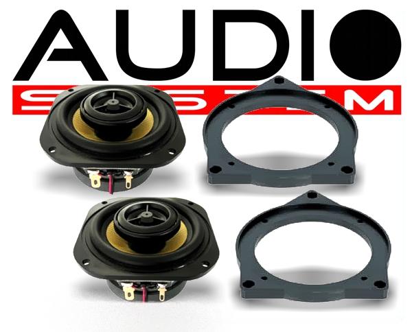 Audio System CO80 BMW 2-Wege Spezial Front-System BMW
