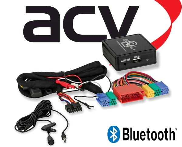 Bluetooth Empfänger zum Nachrüsten Adapter Schnittstelle für Audi 58-003 Mini-ISO