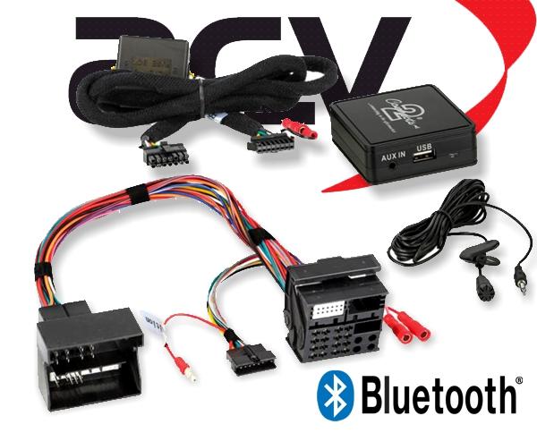 Bluetooth Empfänger zum Nachrüsten Adapter Schnittstelle für BMW 58-009 40 Pin