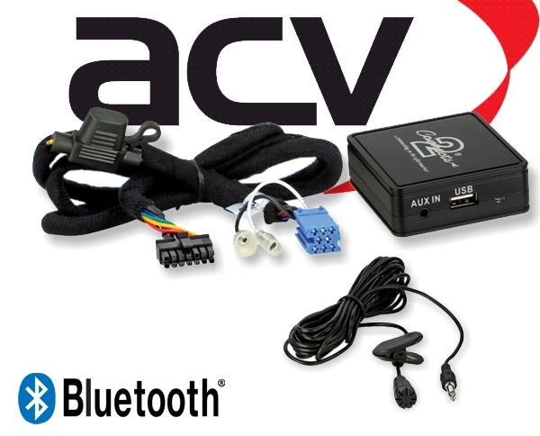 Bluetooth Empfänger zum Nachrüsten Adapter Schnittstelle für Citroen RD3 58-001