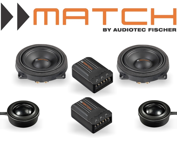 Match Auto Lautsprecher für BMW System 100mm 60W MS4c-BMW.2