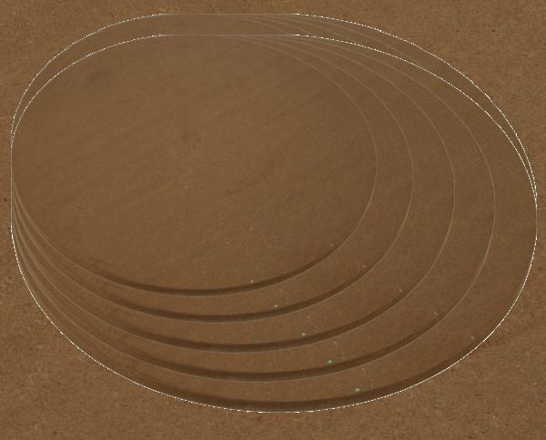 Deckel / Boden für Zylinder-Gehäuse 450 mm