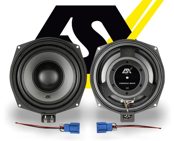 ESX Vision Auto Subwoofer Bass für BMW VS-200W