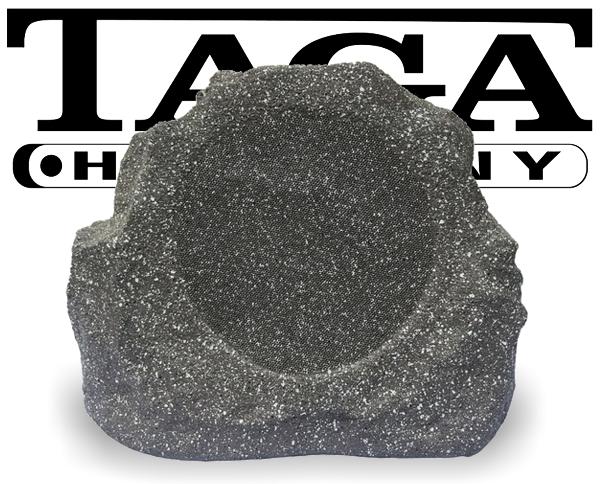 Taga Gartenlautsprecher Outdoor Stein Optik TRS-20 V3 granit-weiss 200W