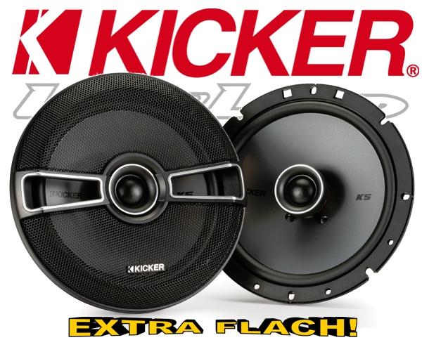 Kicker Auto Lautsprecher KS-Serie 2-Wege-Koax KSC674 165mm 200W