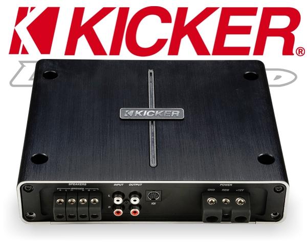 Kicker Auto Verstärker DSP Endstufe IQ500.2 2x 250W