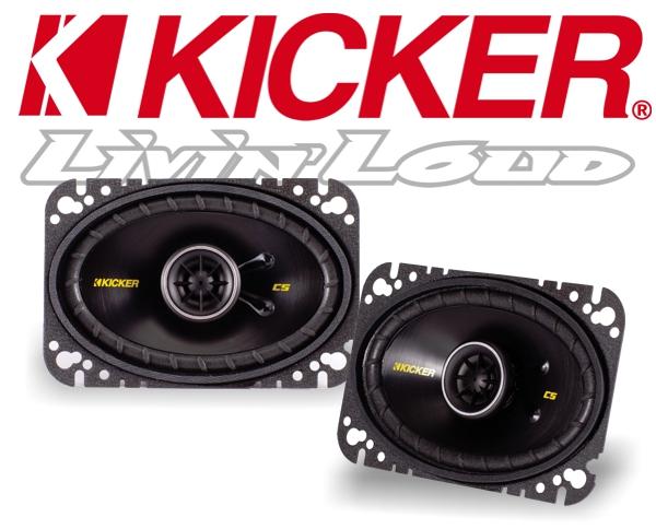 Kicker Autolautsprecher Koax CS46 100x160mm 150W
