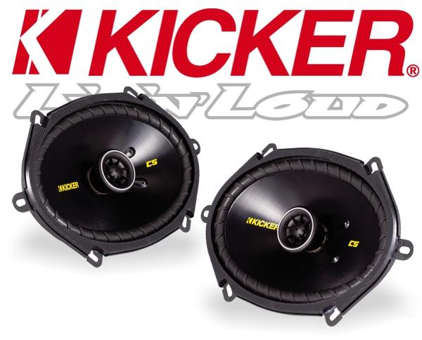 Kicker Autolautsprecher Koax CS68 160x200mm 225W