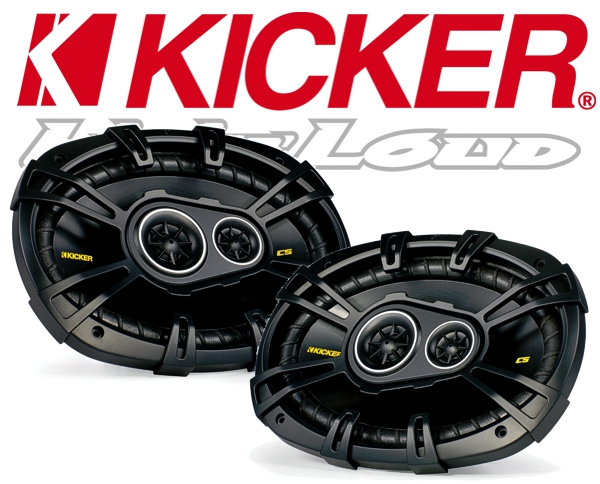 Kicker Autolautsprecher Triax CS693 160x230mm 450W