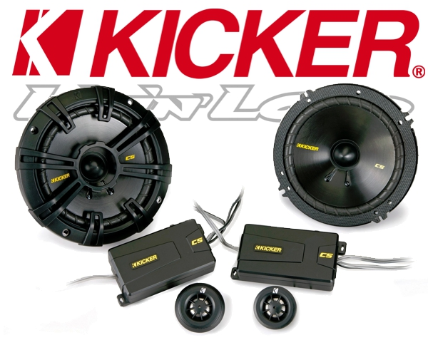 Kicker Autolautsprecher System CSS674 165mm 300W