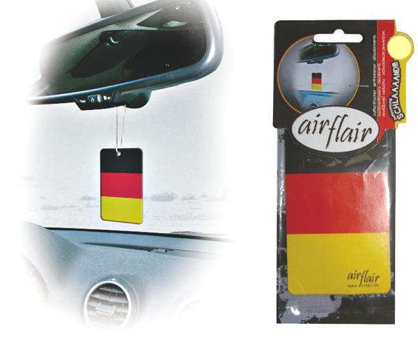 Lufterfrischer Duftbaum Auto Flagge Deutschland kirsch