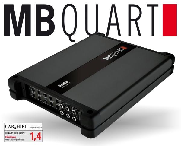 MB Quart Nano Verstärker Endstufe NSC-475 4x 125W