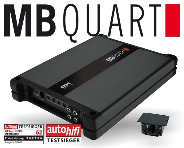 MB Quart Nano Verstärker Endstufe NSC-750 1x 750W