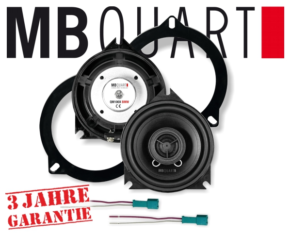 MB Quart Lautsprecher für BMW QM-100X BMW 10cm 120W