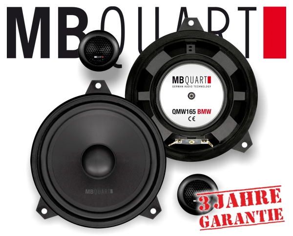 MB Quart Lautsprecher für BMW E46 QM-165 E46 BMW