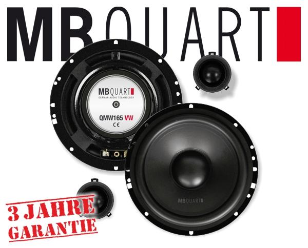 MB Quart Lautsprecher für VW QM-165 VW 165mm 120W