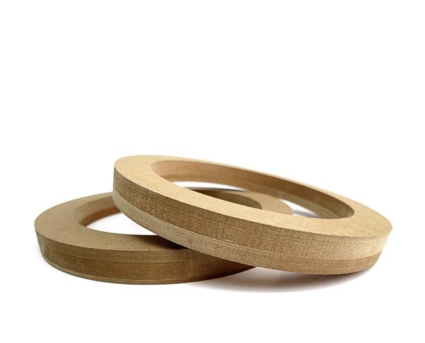 MDF Lautsprecherringe MDF Speaker Ring Holz universal 130mm