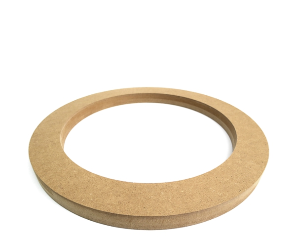 MDF Lautsprecherring MDF Speaker Ring Holz universal 200mm