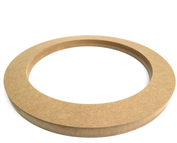 MDF Lautsprecherring MDF Speaker Ring Holz universal 300mm
