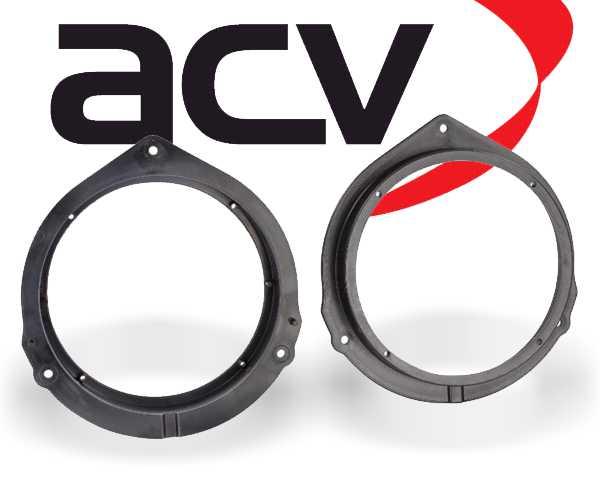 Lautsprecher Adapterringe für Mercedes Vito Viano ab 2014 Türe Front 165mm