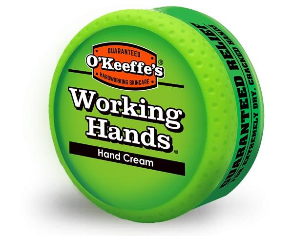 OKeeffes Working Hands Handcreme für strapazierte Arbeiter Hände mit trockener Haut schützt und heilt 96g