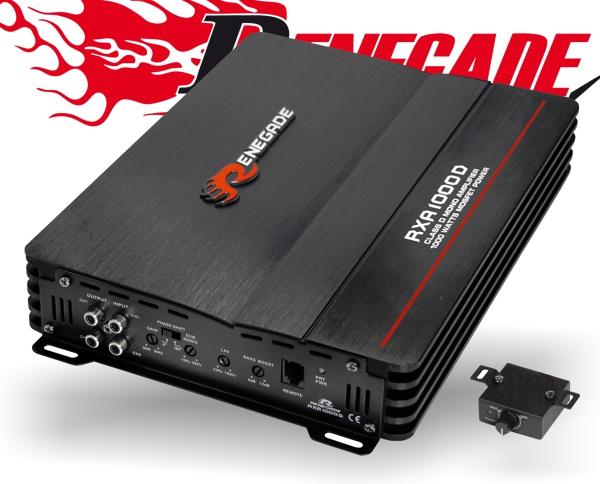 Renegade Auto Verstärker Endstufe RXA1000D 1x 1000W