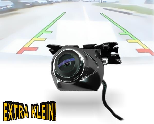 170° Mini Rückfahrkamera mit Befestigungswinkel Spiegelfunktion Park-Distanzlinien