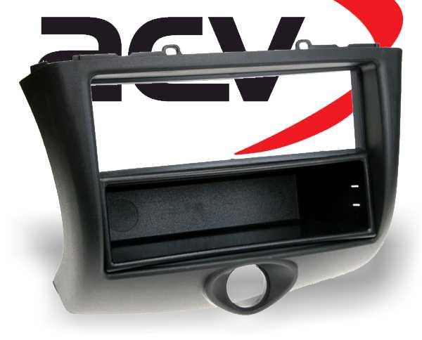 Radioblende mit Ablagefach Toyota Yaris Facelift 2003-2005 schwarz