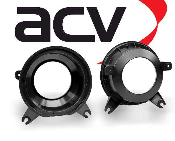 Lautsprecher Adapterringe für Volvo S70 V70 1996-2000 Türe Heck 165mm