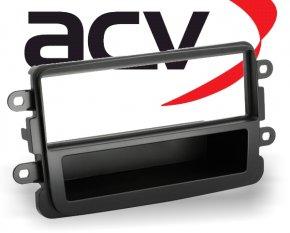 Radioblende 1-DIN Dacia Dokker Duster Lodgy schwarz