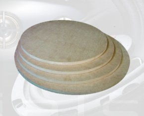 Deckel / Boden für Zylinder-Gehäuse 500 mm