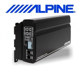 Alpine KTA-450 Aufsteck-Verstärker für Alpine Stackon Radios 4-Kanal